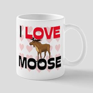 I Love Moose Mug