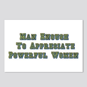 Man Enough Postcards (Package of 8)