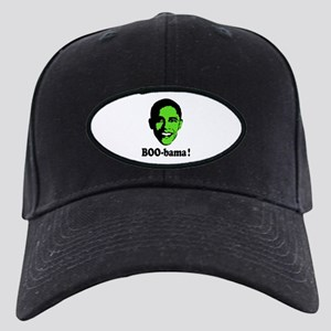 Halloween Boo Obama Black Cap