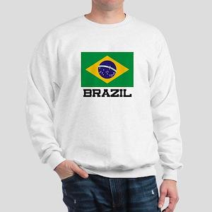 Brazil Flag Sweatshirt