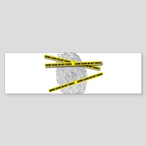 CRIME SCENE! Bumper Sticker