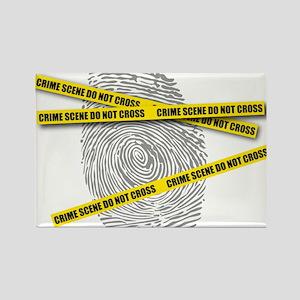 CRIME SCENE! Rectangle Magnet