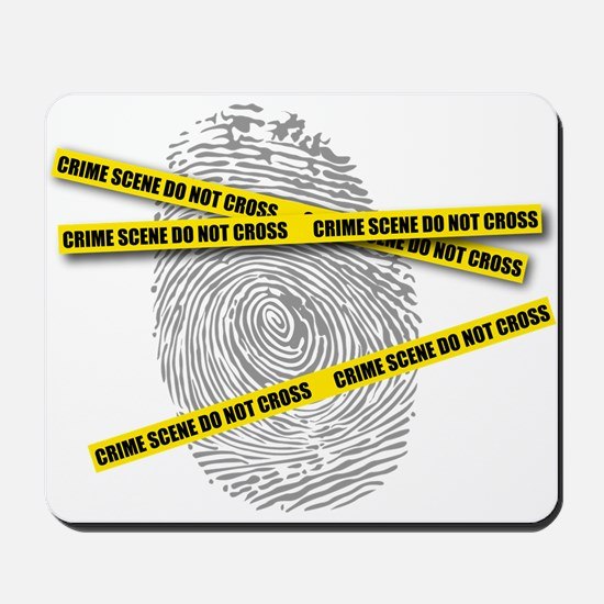 CRIME SCENE! Mousepad
