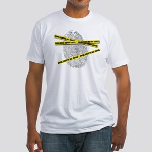 CRIME SCENE! Fitted T-Shirt