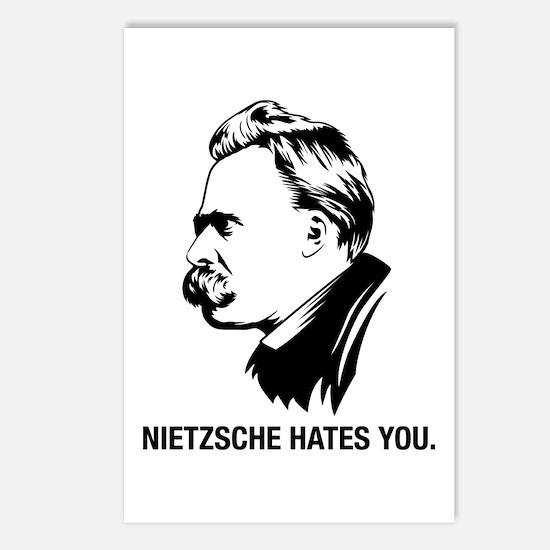 Nietzsche Hates You. Postcards (Package of 8)
