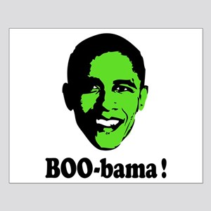 Halloween Boo Obama Small Poster