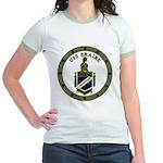 USS BRAINE Jr. Ringer T-Shirt