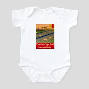 CROOKED SHADOW Infant Bodysuit