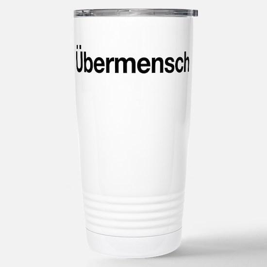 ubermensch Stainless Steel Travel Mug