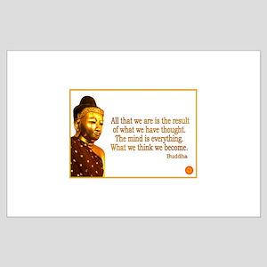Buddha Buddhism Quotes Large Poster