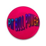 """Pit Bull Power 3.5"""" Button (100 pack)"""