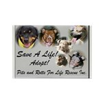 Save A Life Rectangle Magnet (100 pack)