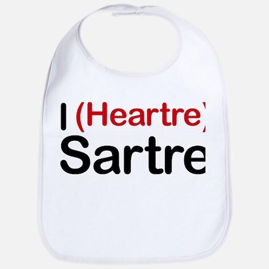 I Heartre Sartre Bib