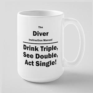 Diver Large Mug