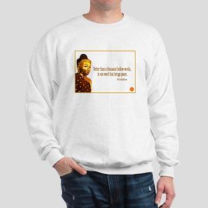 Buddha Buddhism Quotes Sweatshirt
