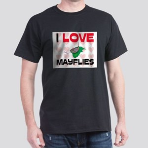 I Love Mayflies Dark T-Shirt