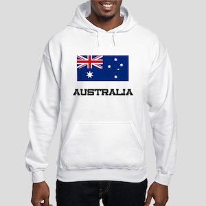 Australia Flag Hooded Sweatshirt