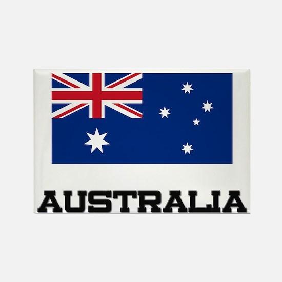Australia Flag Rectangle Magnet