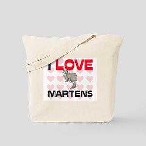 I Love Martens Tote Bag