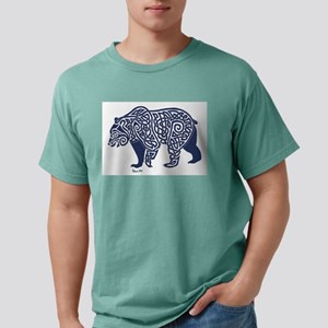 Bear Knotwork Blue T-Shirt