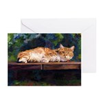 201-Cat Charlie Greeting Cards