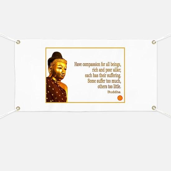 Buddha Buddhism Quotes Banner