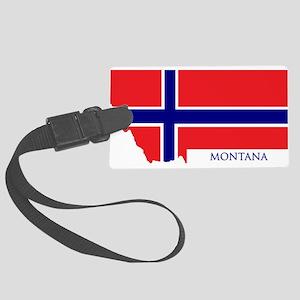 Montana Norwegian Luggage Tag