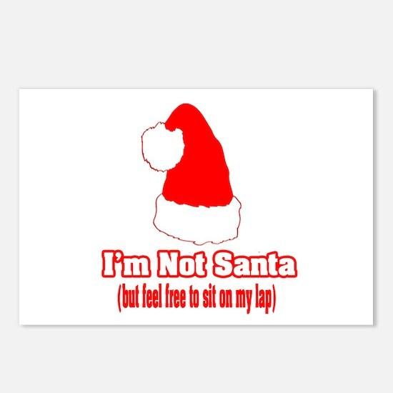 """I'm Not Santa (but feel free to sit on my lap)"" P"