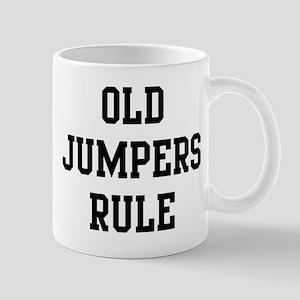 Old Jumpers Rule Mug