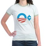Obama Zero Cents Jr. Ringer T-Shirt