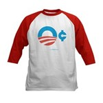 Obama Zero Cents Kids Baseball Jersey