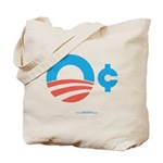 Obama Zero Cents Tote Bag