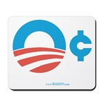 Obama Zero Cents Mousepad