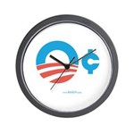 Obama Zero Cents Wall Clock