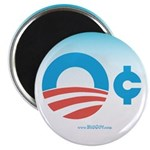Obama Zero Cents Magnet