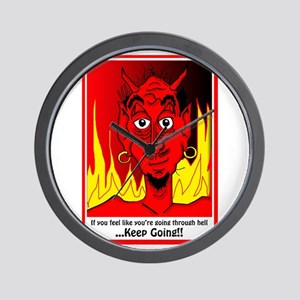 Going Through Hell? Wall Clock