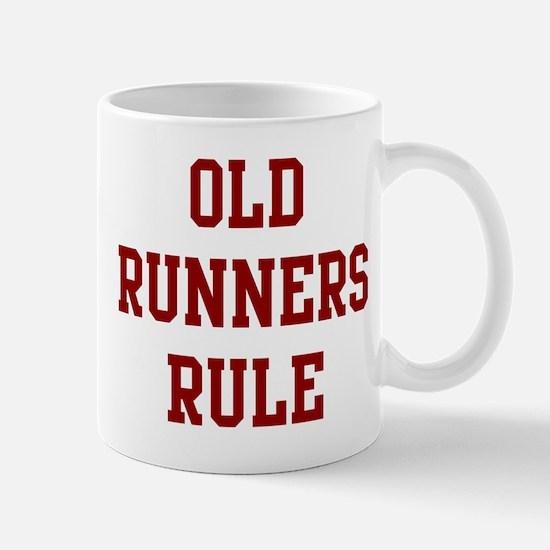 Old Runners Rule Mug