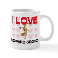 I Love Leopard Geckos Mug