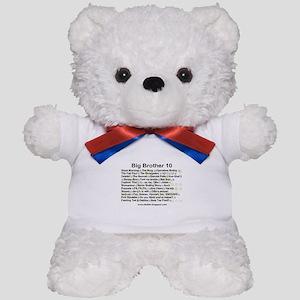 BB10 Quotes Teddy Bear