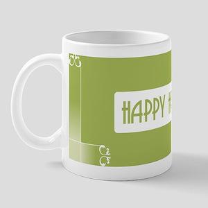 Savvy Green Holidays Ceramic Coffee Mug