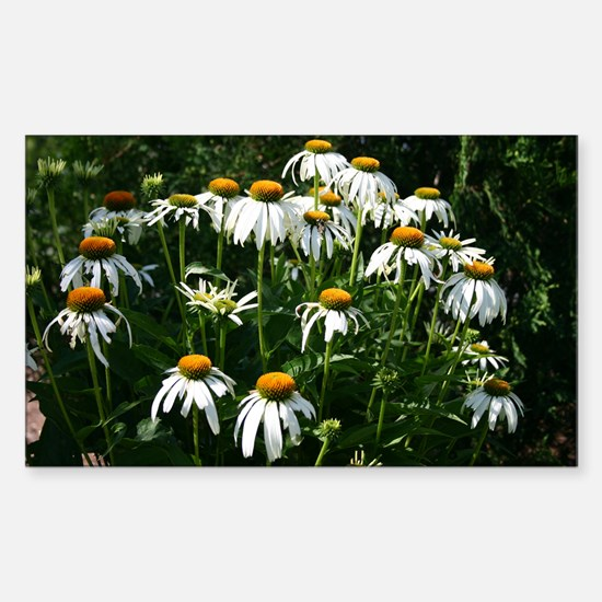 Flower Photo Art Gifts Rectangle Decal