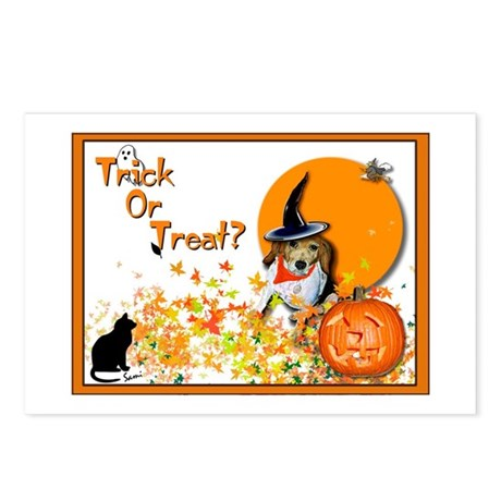 Halloween Beagle Postcards (Package of 8)