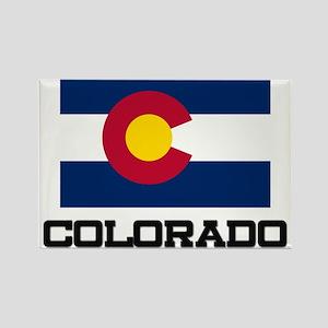 Colorado Flag Rectangle Magnet