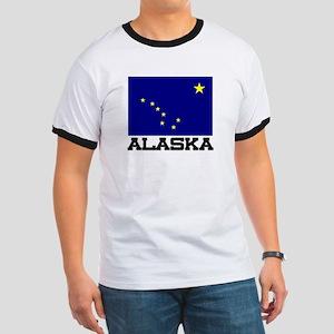 Alaska Flag Ringer T