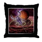 Scorpio Zodiac Throw Pillow