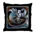 Aquarius Zodiac Throw Pillow
