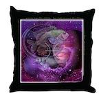 Pisces Zodiac Throw Pillow