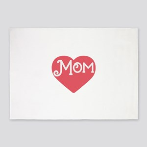 happy mother's day 5'x7'Area Rug