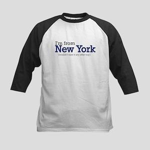 I'm from NY Kids Baseball Jersey