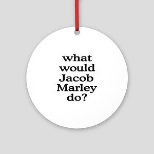 Jacob Marley Ornament (Round)